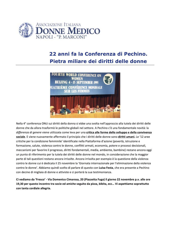 Conferenza di Pechino Napoli 2017 11 22 - Conferenza di Pechino_Napoli_2017_11_22