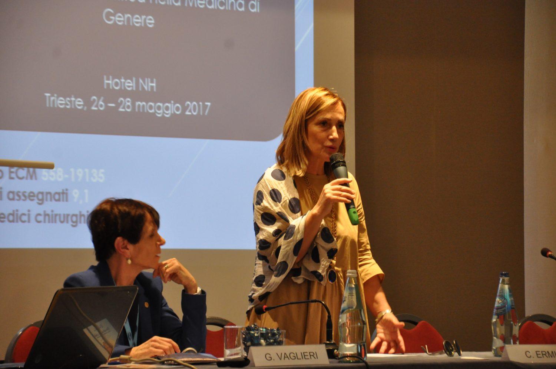Gabriella Vaglieri Caterina ermio - Trieste: Palcoscenico Scientifico per il 37° Congresso Nazionale dell'AIDM - Associazione Italiana Donne Medico