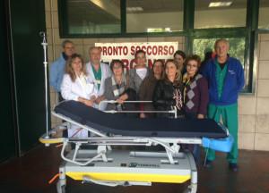 """donazione barellino 300x216 - Associazione """"Donne medico Terni"""" dona un  barellino al pronto soccorso"""